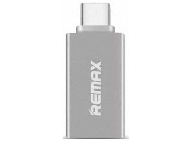 Аксессуар Remax RA-OTG Type-C Silver