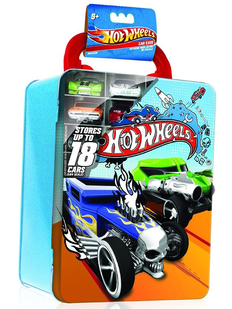 Портативный кейс Mattel Hot Wheels HWCC2 Blue