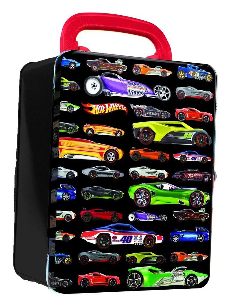 Портативный кейс Mattel Hot Wheels HWCC2 Black
