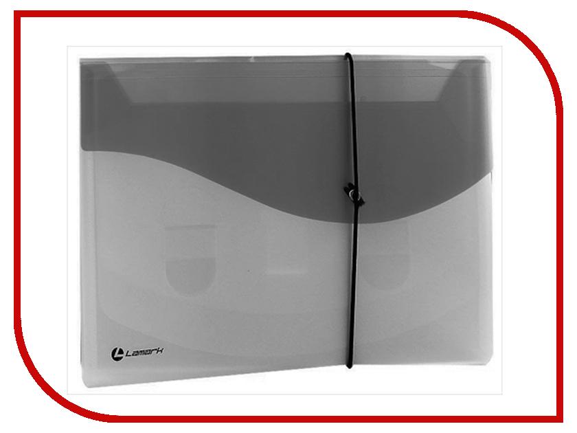 Папка Lamark на резинке A4 Transparent-Black TF0404-BK весы lamark lk 1993 bk