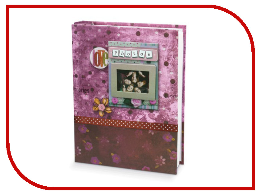 Фотоальбом Brauberg Друзья Lilac 390671 фотоальбом 6171