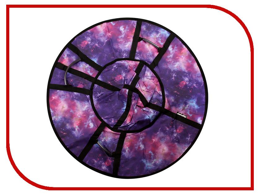 цена на Тюбинг Hubster Люкс Pro Галактика 120cm ВО5135-3