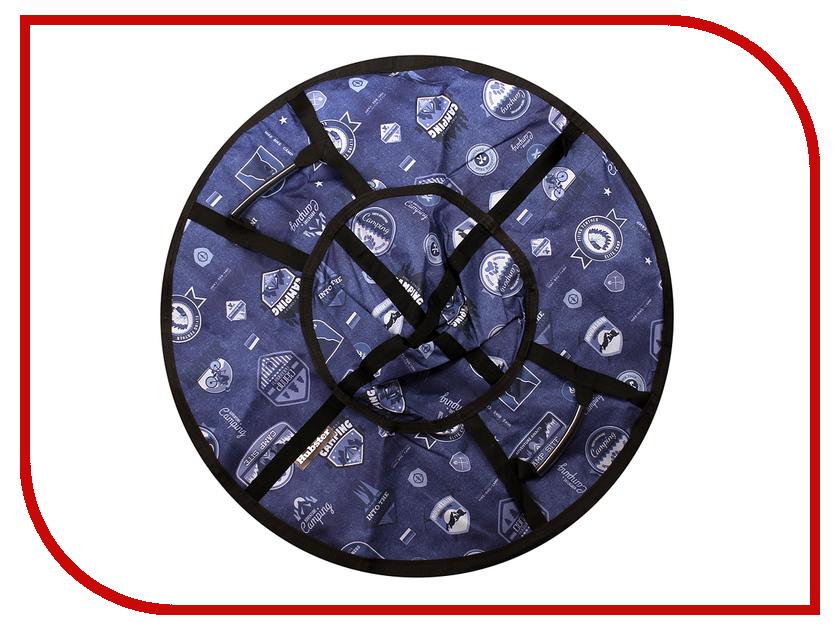 Тюбинг Hubster Люкс Pro Кемпинг 90cm Blue ВО5133-1
