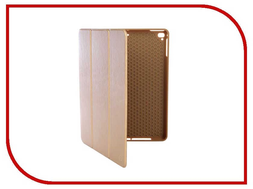Аксессуар Чехол для APPLE iPad Air/Air2/Pro9.7/NEW 9.7 2017-2018 Gurdini Leather with Apple Pencil Gold 907391 new genuine leather men shoulder bags 100