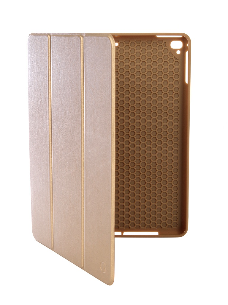 Чехол Gurdini для APPLE iPad Air/Air2/Pro9.7/NEW 9.7 2017-2018 Leather with Apple Pencil Gold 907391