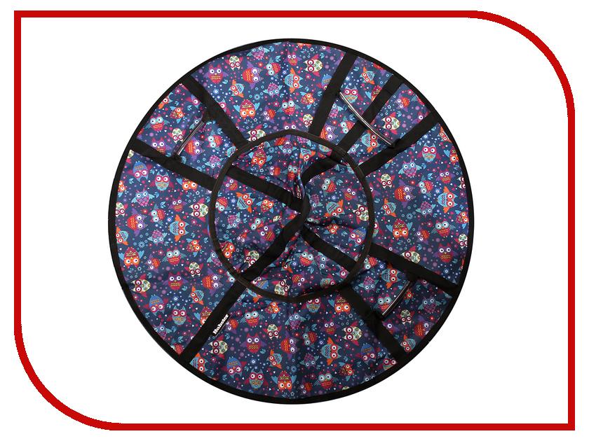 Тюбинг Hubster Люкс Pro Совы 105cm ВО4963-2 puzzle 500 яркие совы alpz500 7701