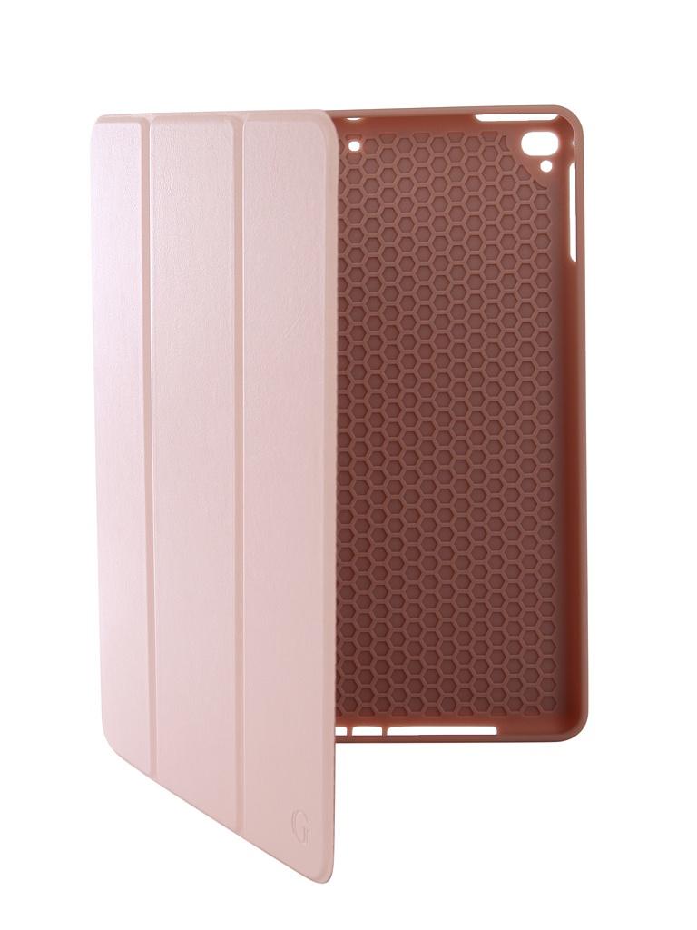 Аксессуар Чехол Gurdini для APPLE iPad Air/Air2/Pro9.7/NEW 9.7 2017-2018 Leather with Apple Pencil Pink Sand 907384 аксессуар чехол melkco для apple ipad pro 9 7 air pink 5042