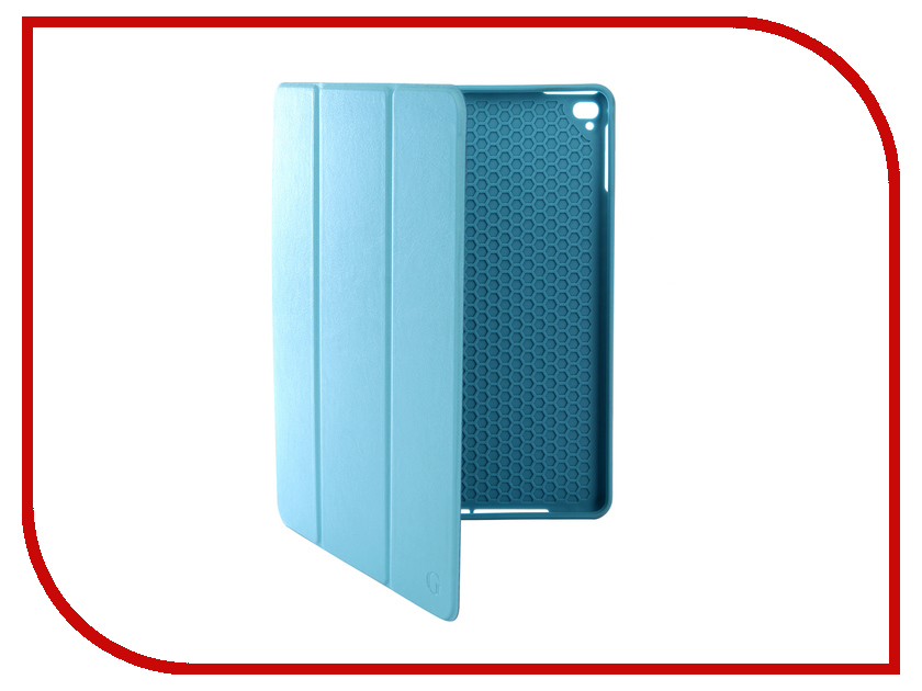 Аксессуар Чехол Gurdini для APPLE iPad Air/Air2/Pro9.7/NEW 9.7 2017-2018 Leather with Apple Pencil Light-Blue 907386 diamond pattern protective pu leather plastic case for ipad air blue