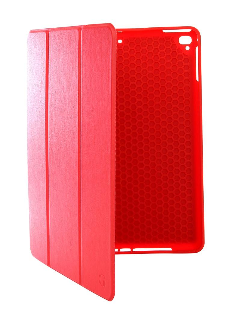Аксессуар Чехол Gurdini для APPLE iPad Air/Air2/Pro9.7/NEW 9.7 2017-2018 Leather with Apple Pencil Red 907390 аксессуар чехол для apple ipad air ipad new 2017 2018 gurdini eco кожа pink 520018