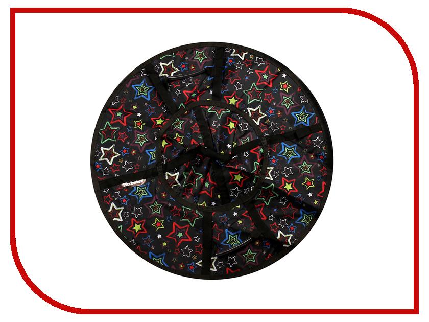 цена на Тюбинг Hubster Люкс Pro Звезды 90cm Black ВО4537-1