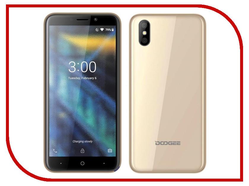 Сотовый телефон DOOGEE X50L Gold сотовый телефон doogee x50l blue