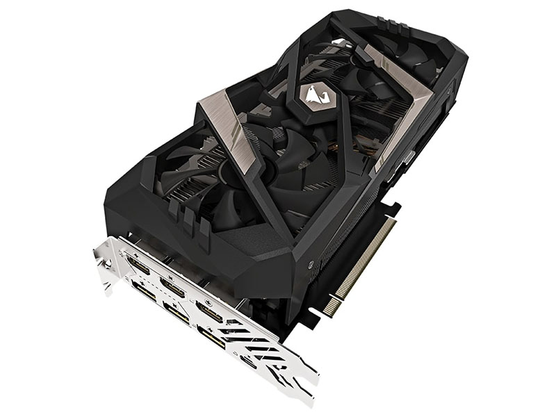Видеокарта GigaByte GeForce RTX 2080 AORUS XTREME 1890Mhz PCI-E 3.0 8192Mb 14140Mhz 256 bit USB-C 3xHDMI 3xDP GV-N2080AORUS X-8GC