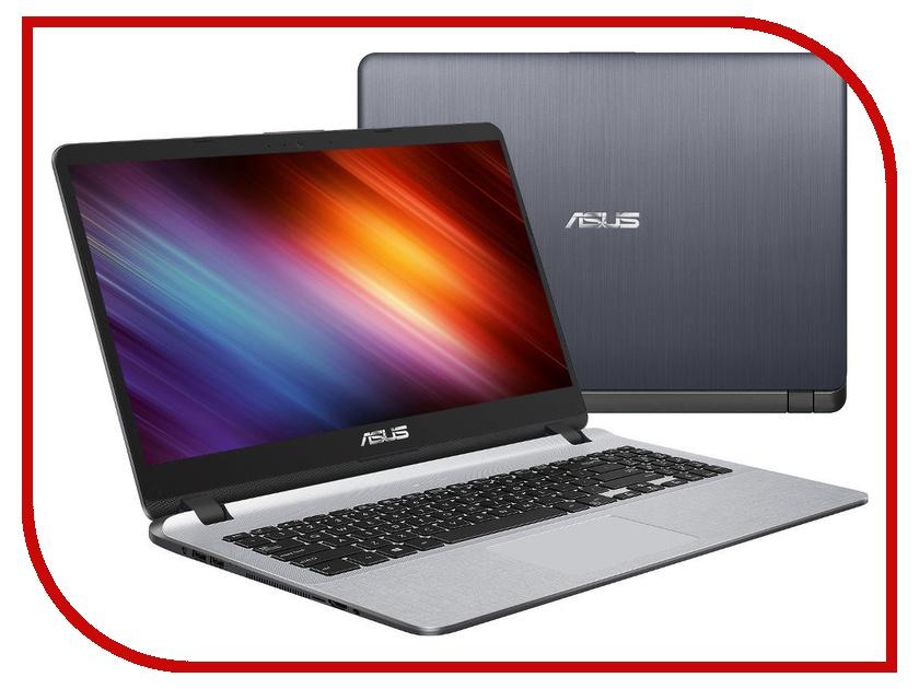 Ноутбук ASUS VivoBook X507MA-EJ158 Dark Grey 90NB0HL1-M02730 (Intel Celeron N4100 1.1 GHz/4096Mb/256Gb SSD/Intel HD Graphics/Wi-Fi/Bluetooth/Cam/15.6/1920x1080/Endless OS) ноутбук asus x507ma ej012 90nb0hl1 m00170