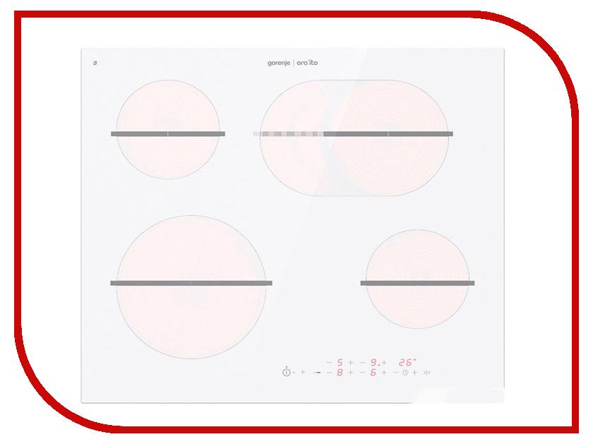 лучшая цена Варочная панель Gorenje ECT 648 ORAW White