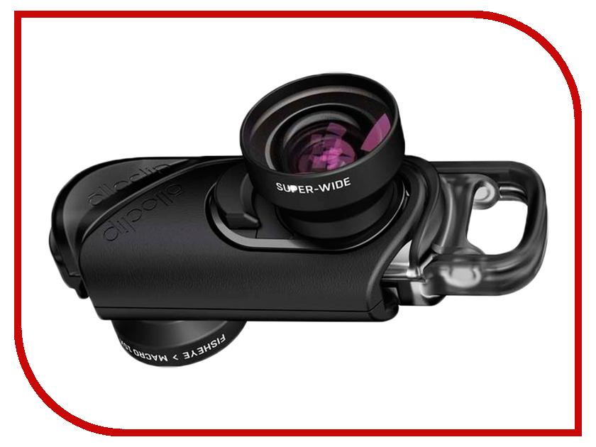 Фото - Аксессуар Объектив для APPLE iPhone 7 / 7 Plus Olloclip Active Lens Set OC-0000215-EA Black объектив olloclip fisheye super wide macro 15 x для apple iphone 7 8 7 plus 8 plus
