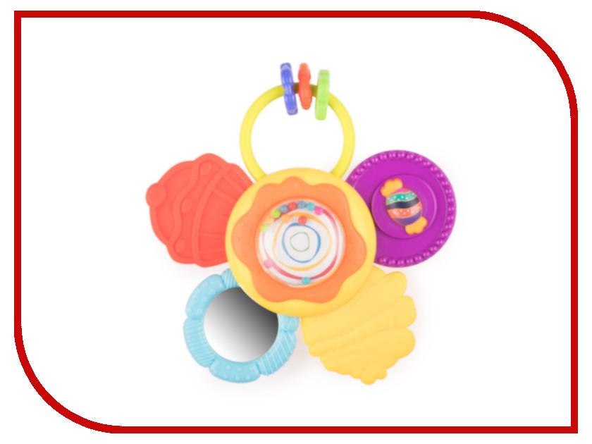 Погремушка Happy Baby Candy Flo 330092 / 4690624025341 happy baby нагрудный фартук на липучке happy baby candy