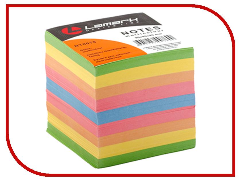 Фото - Стикеры Lamark 90x90mm 900 листов Colored NT0076 стикеры для стен zooyoo1208 zypa 1208 nn