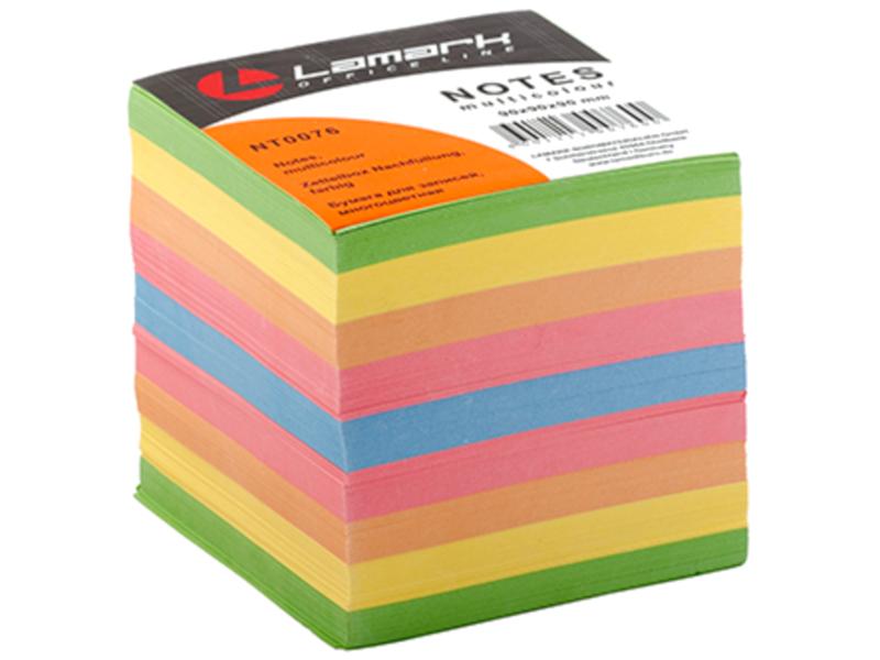 Стикеры Lamark 90x90mm 900 листов Colored NT0076 цена
