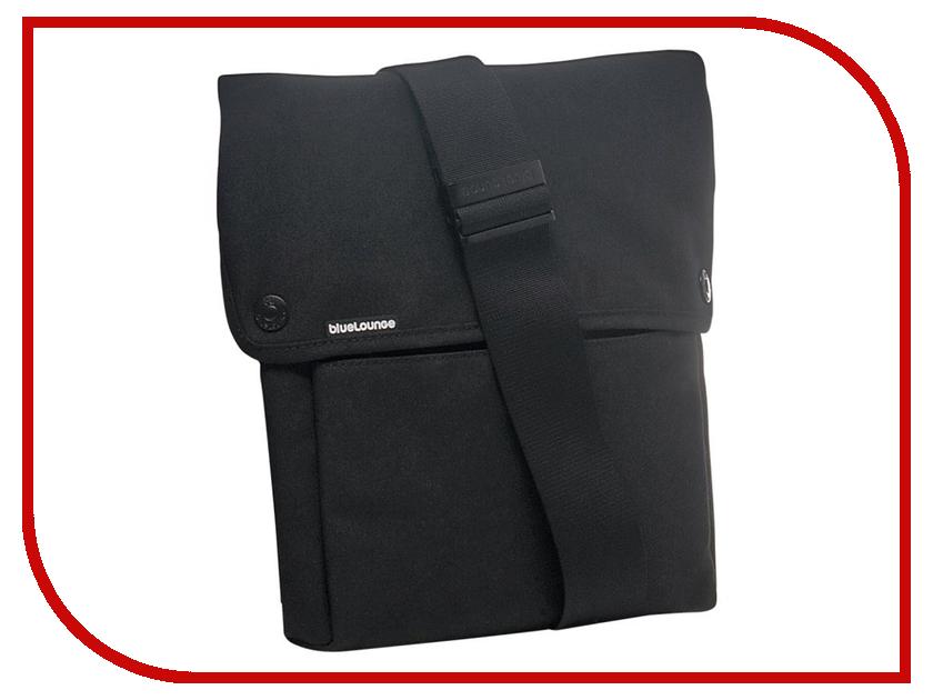 Аксессуар Сумка Bluelounge iPad Sling Bag 11-Inch Black BLUUS-IB-01-BL аксессуар комплект bluelounge cabledrop cd br yellow pink green