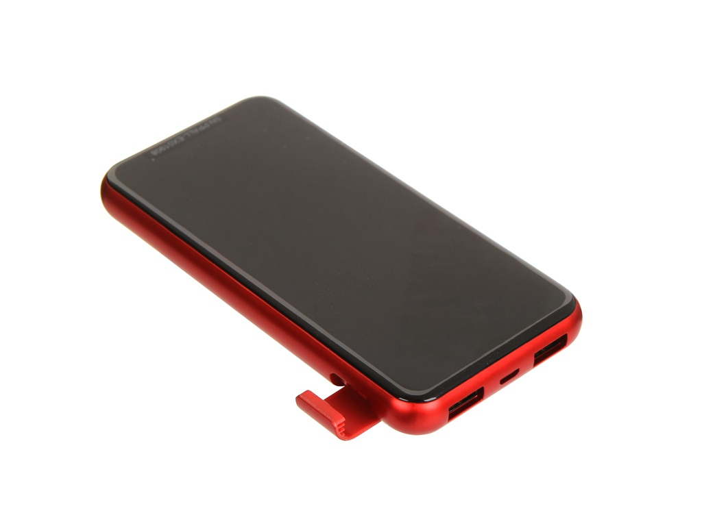 Внешний аккумулятор Baseus Wireless Charger Power Bank 8000mah Red PPALL-EX09