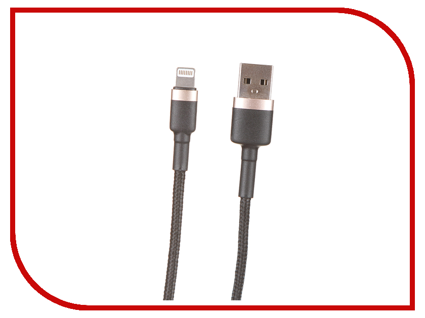 Аксессуар Baseus APPLE 8-pin Cafule 1.5A 2m Gold-Black CALKLF-CV1 100pcs 2m 6 56ft 4 pin led strip connector male