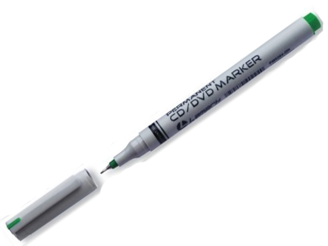 Маркер Lamark 0.5mm-0.9mm Green PM0364-GN маркер для доски index imwr100 gn 3 мм зеленый сменные чернила imwr100 gn