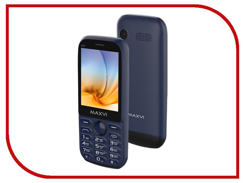 Сотовый телефон Maxvi K17 Marengo-Black все цены
