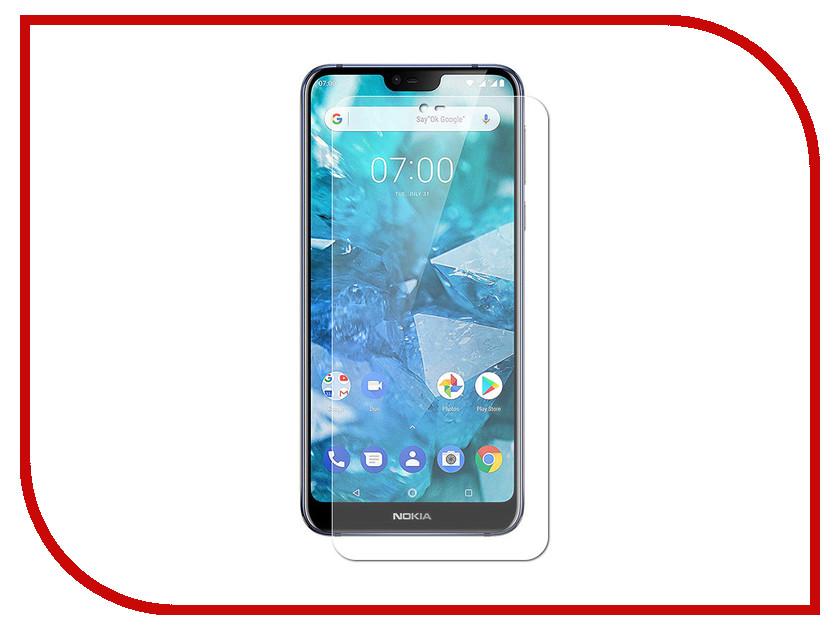 Аксессуар Защитная пленка для Nokia 7.1 LuxCase суперпрозрачная 53441 аксессуар защитная пленка bq aquaris u2 luxcase суперпрозрачная 56544