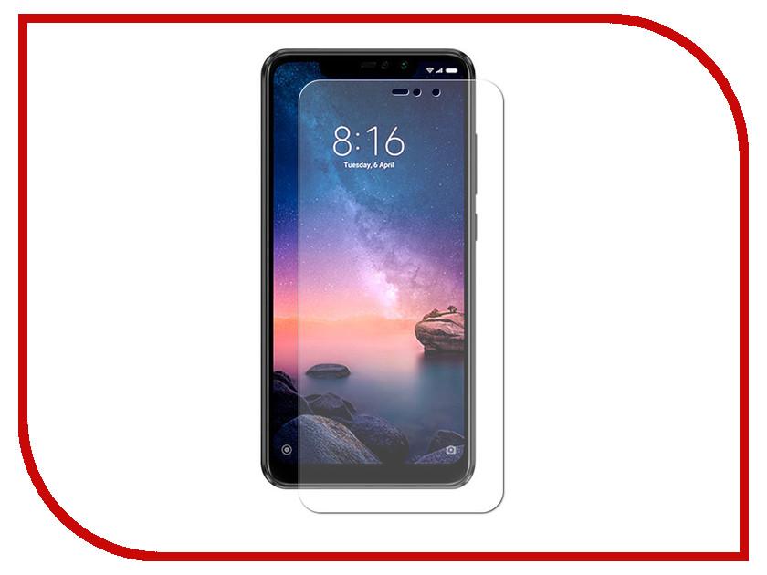 Аксессуар Защитная пленка для Xiaomi Redmi Note 6 Pro LuxCase суперпрозрачная 55828 luxcase защитная пленка для samsung galaxy note 8 суперпрозрачная