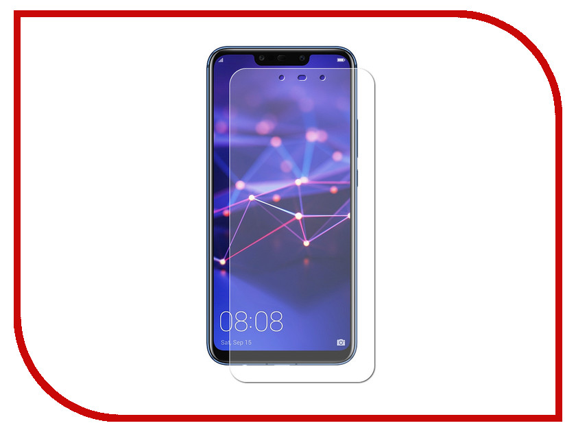 Аксессуар Гибридная защитная пленка для Huawei Mate 20 Lite Red Line УТ000016655 аксессуар защитная пленка для prestigio wize 3131 red line ут000012122