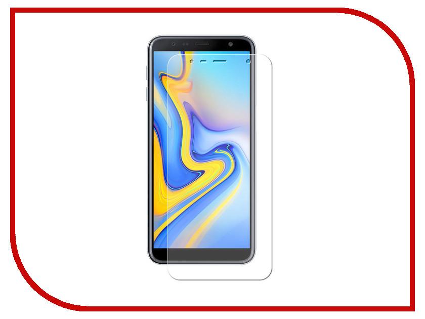 Аксессуар Гибридная защитная пленка для Samsung Galaxy J6 Plus 2018 Red Line УТ000016660 аксессуар защитная пленка для alcatel idol 6058d red line