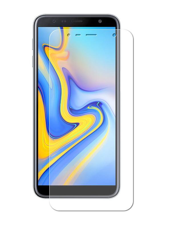 Аксессуар Гибридная защитная пленка Red Line для Samsung Galaxy J6 Plus 2018 УТ000016660 аксессуар гибридная защитная пленка для samsung galaxy j8 2018 red line ут000015487