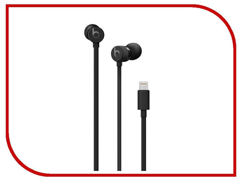 Наушники Beats urBeats3 (Lightning) Black MU992EE/A наушники beats ep on ear headphones white ml9a2ze a