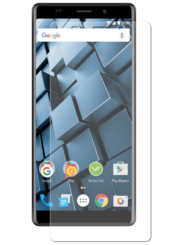 Аксессуар Защитная пленка LuxCase для Vertex Impress Cube на весь экран Transparent 89059
