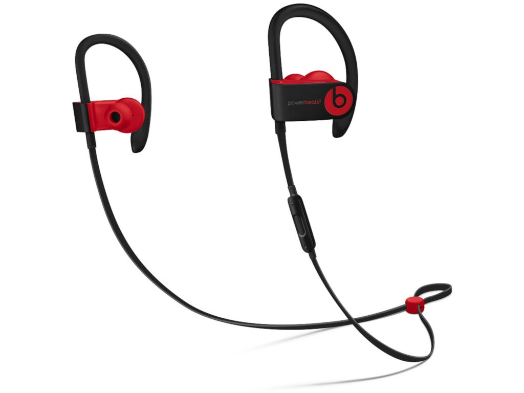 Beats Powerbeats3 Wireless Earphones Decade Collection Defiant Black-Red MRQ92EE/A
