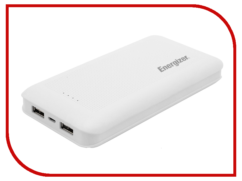 Аккумулятор Energizer UE15005 15000mAh White аккумулятор energizer extreme тип аа 2300 mah блистер 2шт