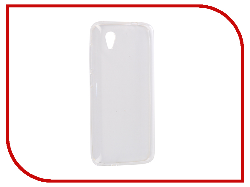 Аксессуар Чехол для Alcatel 1 5033 iBox Crystal Silicone Transparent УТ000016242 чехол книжка ibox premium для alcatel one touch pop d5 черный