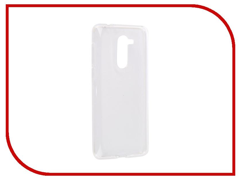 Аксессуар Чехол для Alcatel 3X 5058I iBox Crystal Silicone Transparent УТ000016243 аксессуар чехол microsoft lumia 550 ibox crystal transparent