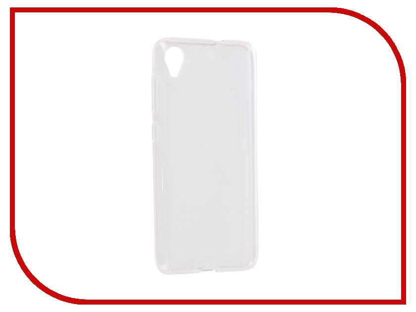 Аксессуар Чехол для ASUS Zenfone Live L1 G552KL iBox Crystal Silicone Transparent УТ000016639 цена и фото