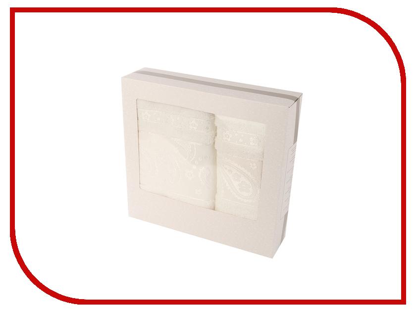 Полотенце Aisha Home 50x90/70x140cm Milk НМП-037к полотенце aquarelle стамбул 70x140cm white blue 710397