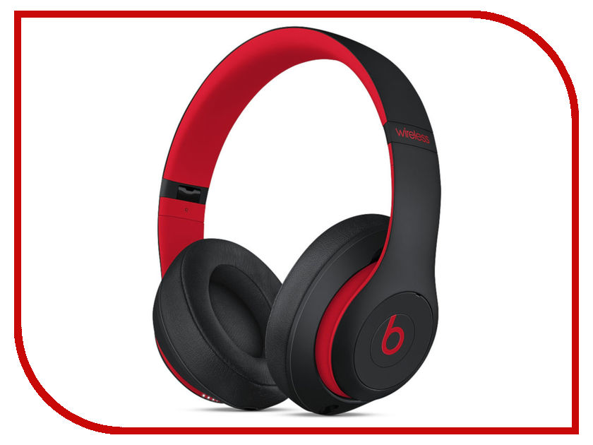 Beats Studio3 Wireless Headphones Decade Collection Defiant Black-Red MRQ82EE/A