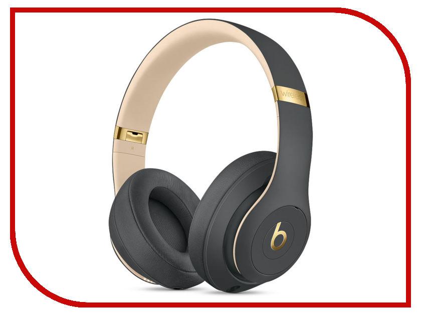 Beats Studio 3 Wireless Shadow Grey MQUF2EE/A beats studio 3 wireless defiant black red mrq82ze a