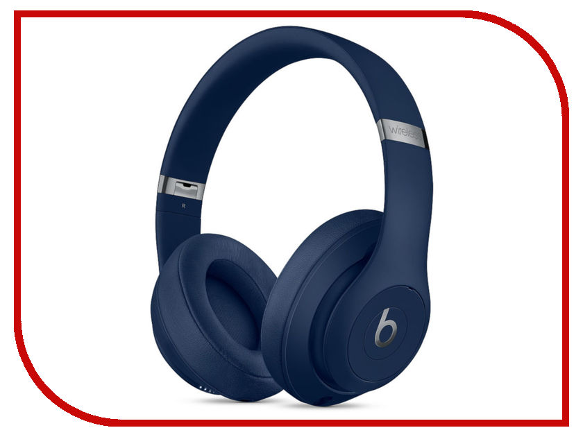 Beats Studio3 Wireless Headphones Blue MQCY2EE/A