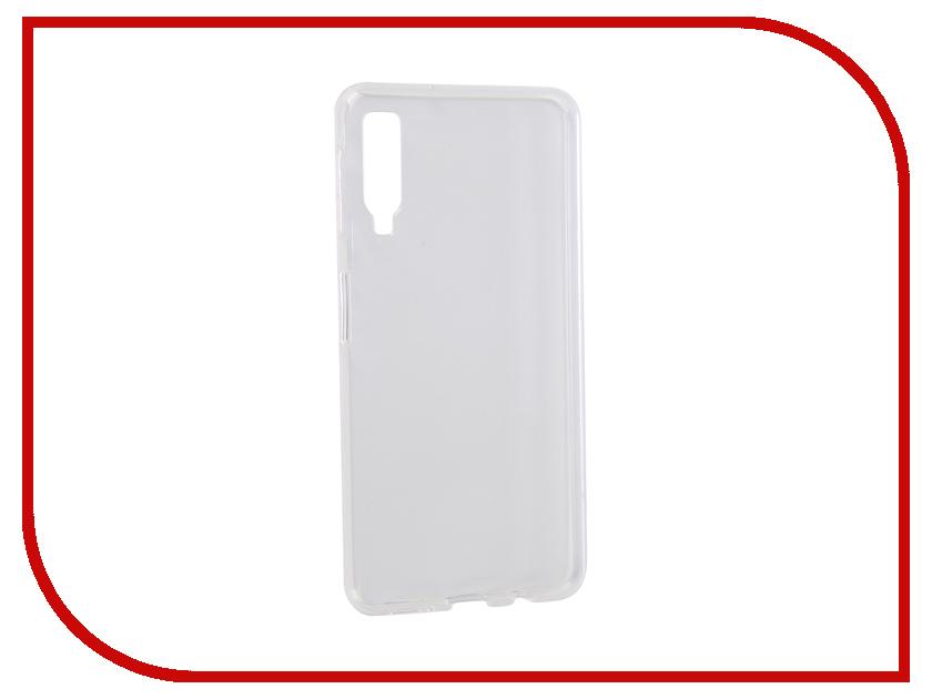 Аксессуар Чехол для Samsung Galaxy A7 2018 iBox Crystal Silicone Transparent УТ000016499 все цены