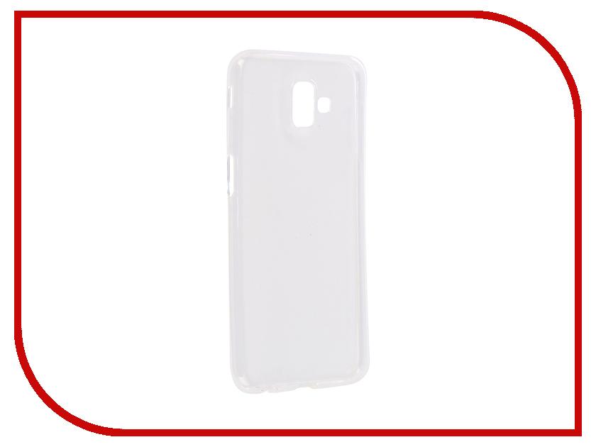 все цены на Аксессуар Чехол для Samsung Galaxy J6 Plus 2018 iBox Crystal Silicone Transparent УТ000016429