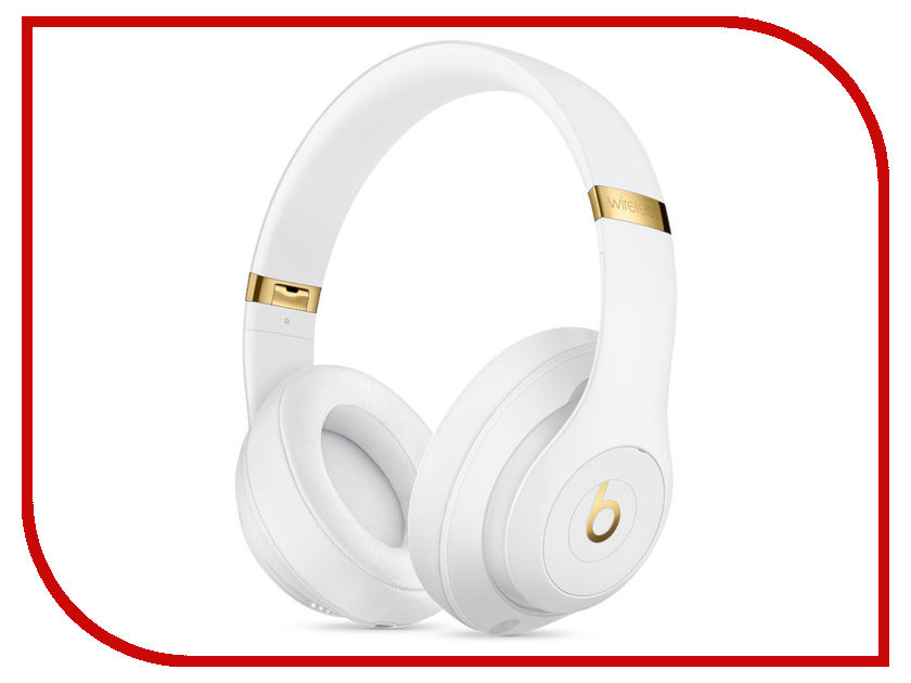 Beats Studio3 Wireless Headphones White MQ572EE/A