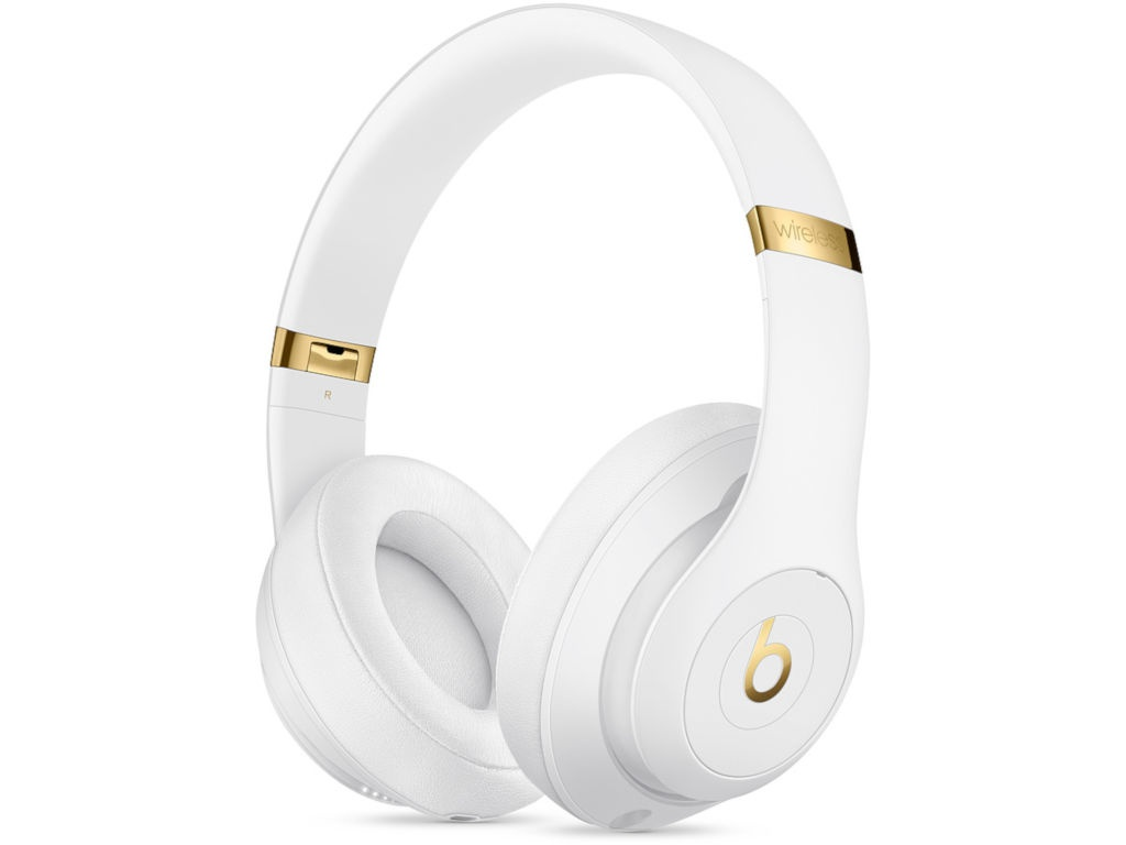 цена на Beats Studio3 Wireless Headphones White MQ572EE/A
