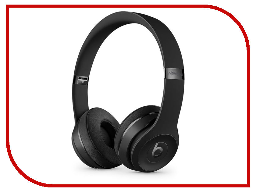 Beats Solo3 Wireless Headphones Matte Black MP582EE/A