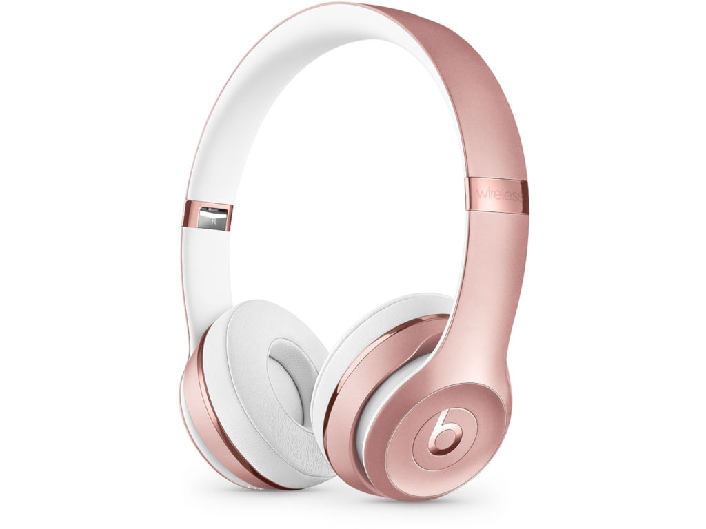 цена на Beats Solo3 Wireless Headphones Rose Gold MNET2EE/A