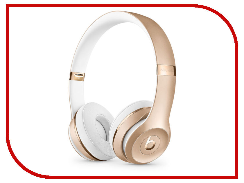 Beats Solo3 Wireless Headphones Gold MNER2EE/A